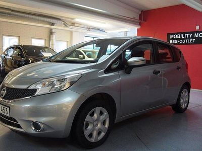 begagnad Nissan Note 1,2 Visia / Nybilsgaranti