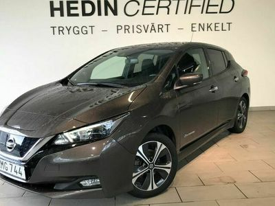 begagnad Nissan Leaf N-CONNECTA 40 KWH Sov Hjul