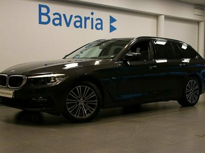 begagnad BMW 520 d xDrive Touring Aut Sport Line Drag Värmare Nav