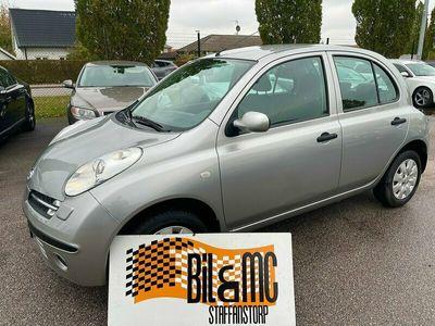 begagnad Nissan Micra 5-dörrar 1.2 80hk