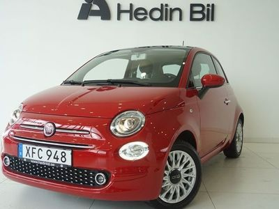 used Fiat 500 LOUNGE 1,2 69 HK *CARPLAY* VINTERHJUL