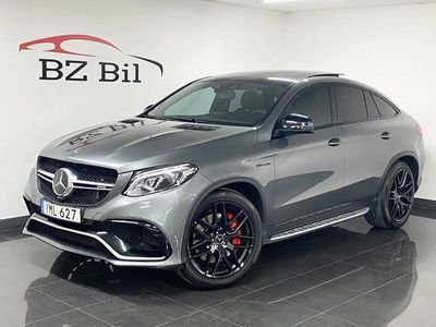 begagnad Mercedes GLE63 AMG AMGS 4MATIC Coupé AMG,