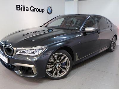 begagnad BMW M760 xDrive Laserlight Bower & Wilkins V12 610 Hk 2018