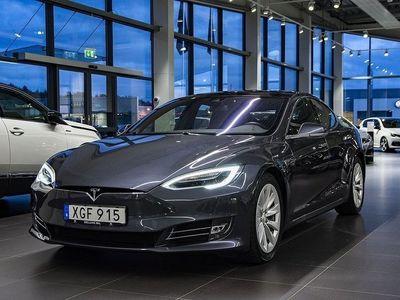 begagnad Tesla Model S 60D (75D) AWD Leasebar Facelift Svensksåld