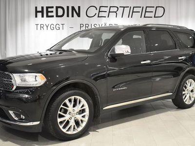 begagnad Dodge Durango Citadel 5,7L HEMI AWD M-värme