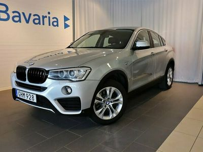 begagnad BMW X4 xDrive20d xDrive 20d Dragkrok Navigation Dieselvärmare