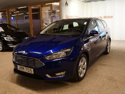 begagnad Ford Focus Kombi 1.0 125 Titanium A 2017, Kombi 159 000 kr