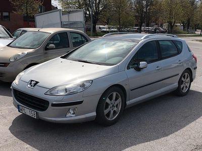 begagnad Peugeot 407 SW 2.2 158HK PANORAMA LÅGA MIL