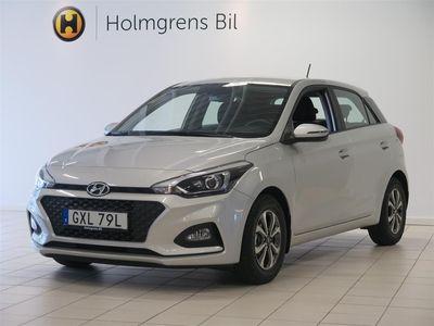 begagnad Hyundai i20 1.25 84hk Trend Kamera CarPlay Demo