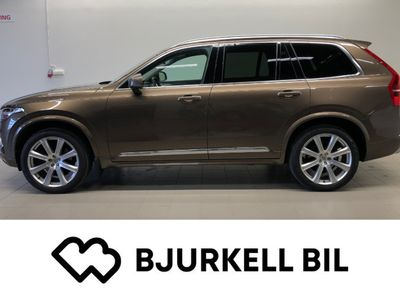used Volvo XC90 D5 AWD Geartronic Inscription 7-sits MOMSBIL!
