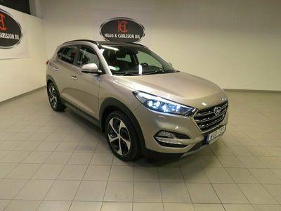 begagnad Hyundai Tucson Premium 185Hk Automat Drag