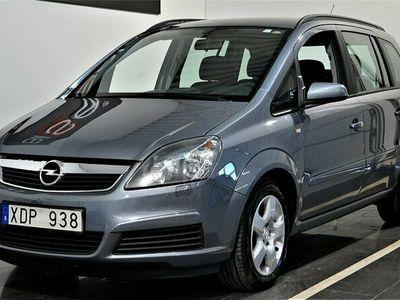 begagnad Opel Zafira 1.8 7-sits Nyservad / S&V-hjul 140hk