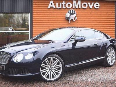 begagnad Bentley Continental GT Speed 6.0 W12 - - Mulliner 2013, Sedan 999 000 kr