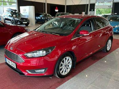 begagnad Ford Focus 1.0 Eco Boost 125 Hk Titanium 5D