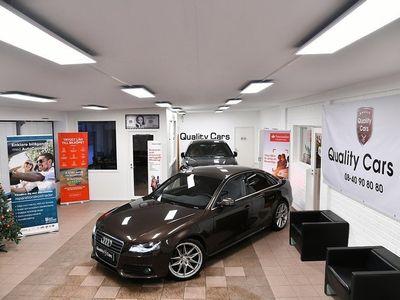 begagnad Audi A4 Sedan 2.0 TFSI quattro 180hk 10000 Mil Proline E85