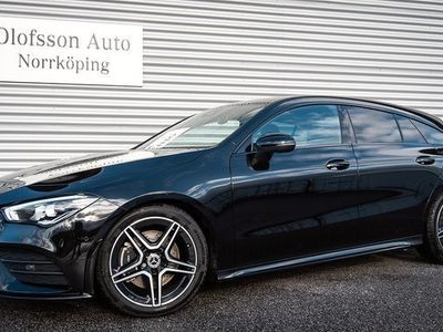 begagnad Mercedes 200 CLA BenzShooting Brake AMG Nightpackage Drag Navi 2020, Sportkupé 357 500 kr