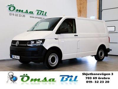 begagnad VW Transporter 2.0 TDI 4M DSG Komfortpaket 3-Sits EU6 150hk