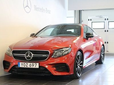 begagnad Mercedes E53 AMG E-klass4MATIC+ Coupé AMG, Designo, AMG Sport, Exclusive Leathe