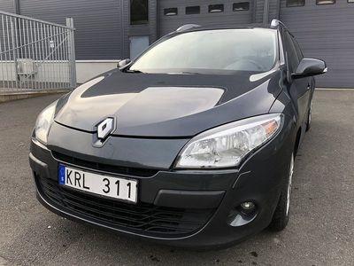 begagnad Renault Mégane GrandTour 1.6 E85 110hk,