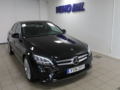 begagnad Mercedes C220 d Sedan Avantgarde Aut Burmester Drag