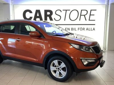 begagnad Kia Sportage 2.0 CRDI AWD Aut Drag Nyservad