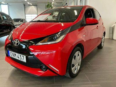 begagnad Toyota Aygo 5-dörrar 1.0 VVT-i X-PLAY