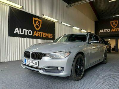 begagnad BMW 320 d Sport line 184hk Drag Panorama Sv-Såld