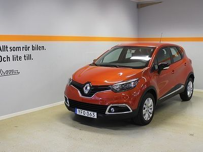 begagnad Renault Captur TCe 120 EDC Expression A 5-d