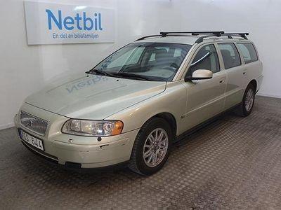 begagnad Volvo V70 2.4 Limited Edition 140hk Drag M-värm