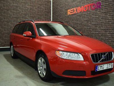 begagnad Volvo V70 2.0 Flexifuel Kinetic 145hk Ny Besiktad