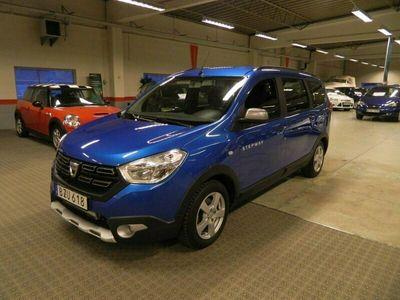 begagnad Dacia Lodgy Stepway 1.2 TCe Euro 6 7-sits 115hk