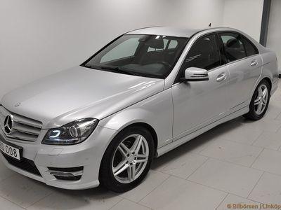 begagnad Mercedes C220 CDI 7G-Tronic Plus, Aut 170hk, AMG-Line