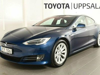 begagnad Tesla Model S 75D AWD Panorama Autopilot Luftfjädring