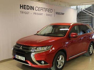 begagnad Mitsubishi Outlander PHEV BUSINESS SAFETY NAVI S+V HJUL