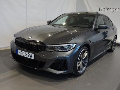 begagnad BMW M3 40i xDrive Sedan Navi Värmare Drag Innovation Driving Assistant