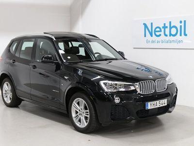 begagnad BMW X3 xDrive30d M Sport 258hk HUD / Pano