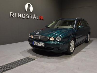 begagnad Jaguar X-type Kombi 2.2 DPF 145 HK DRAG M&K-VÄRM