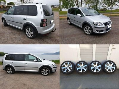 gebraucht VW Touran Cross TSI 140hk, 7-sitsig, bensin -08