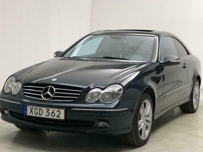 begagnad Mercedes CLK500 C209 (306hk)