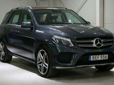 begagnad Mercedes 400 GLE Benz4MATIC 7G-Tronic Plus AMG Sport Euro6 2015, SUV Pris 389 000 kr