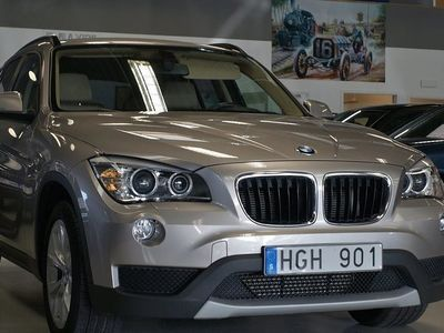 begagnad BMW X1 xDrive 25d Läder Drag 218HK!