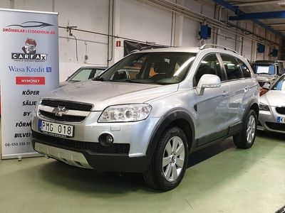 begagnad Chevrolet Captiva 2.0 VCDi 4WD Automat 7-sits 150hk/NYBESIKT