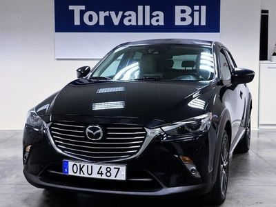 begagnad Mazda CX-3 2.0 Optimum AUT 4WD + Drag+V-Hjul