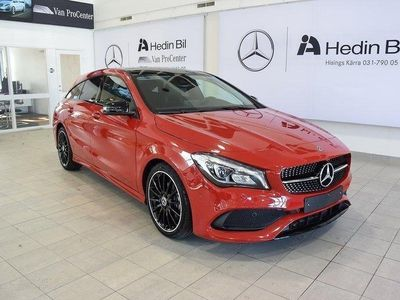 begagnad Mercedes CLA180 Shooting Brake AMG-line Demo