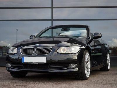begagnad BMW 335 Cabriolet i / 306hk / NYSERVAD / OBS SKI -11