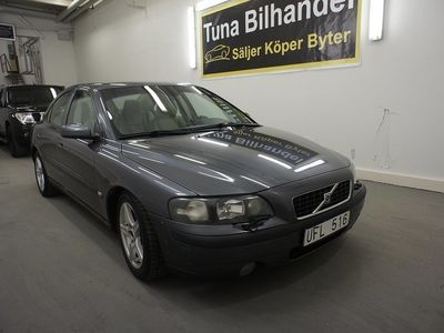 begagnad Volvo S60 2.5T Automat Business 210hk Ny kamr -04