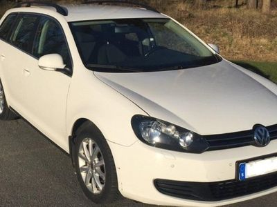 begagnad VW Golf DSG Automat, TDI Bluemotion -11