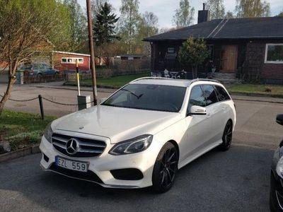 begagnad Mercedes E350 4matic AMG