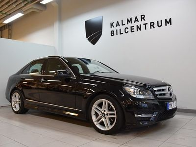 begagnad Mercedes C220 CDI AMG Line