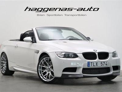 begagnad BMW M3 Cabriolet Convertible / DCT / 420hk / NAVI / HiFi